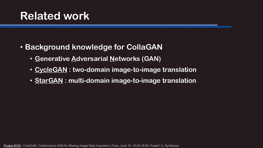 Related work • Background knowledge for CollaGA...