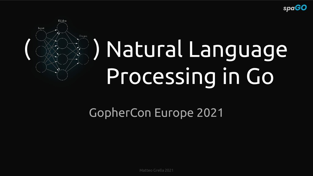 Matteo Grella 2021 Natural Language Processing ...