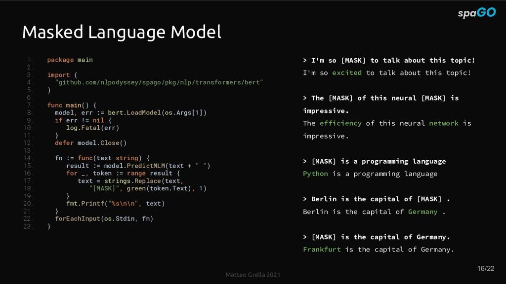 Matteo Grella 2021 Masked Language Model 1. pac...