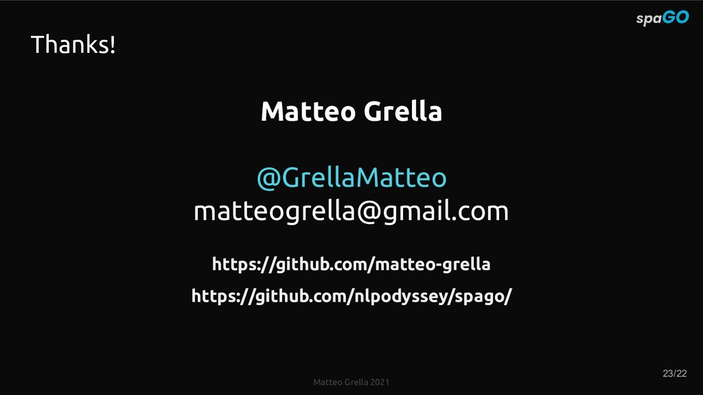 Matteo Grella 2021 Matteo Grella @GrellaMatteo ...