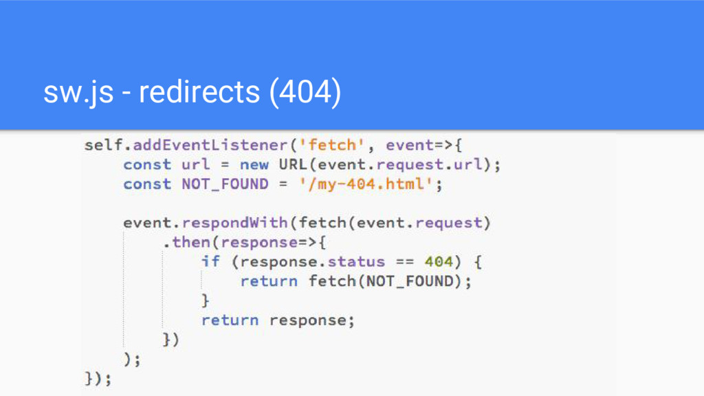 sw.js - redirects (404)