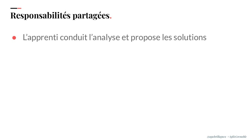IPPON 2019 Responsabilités partagées. ● L'appre...