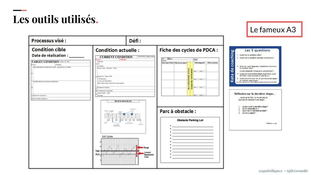IPPON 2019 Les outils utilisés. Le fameux A3 @a...