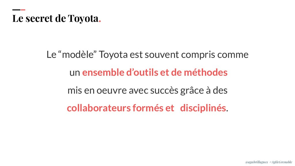 "IPPON 2019 Le secret de Toyota. Le ""modèle"" Toy..."