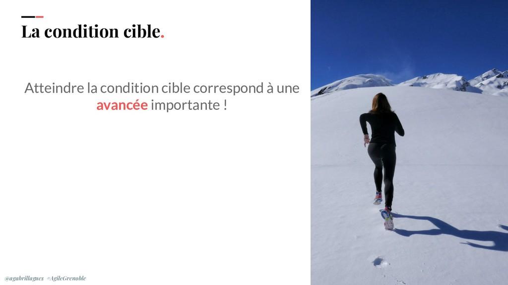 IPPON 2019 La condition cible. Atteindre la con...
