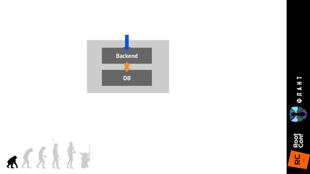 DB Backend