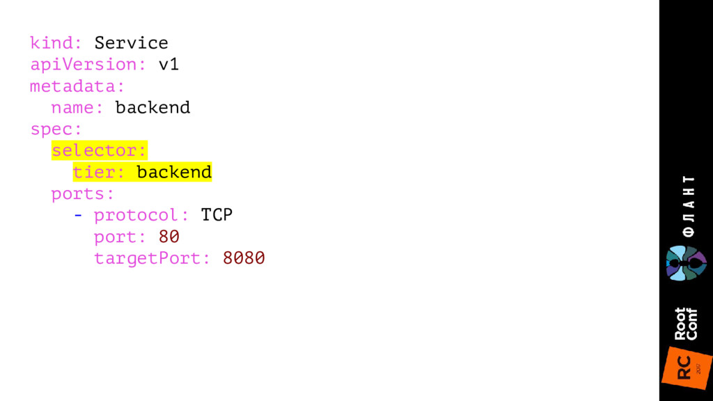 kind: Service apiVersion: v1 metadata: name: ba...