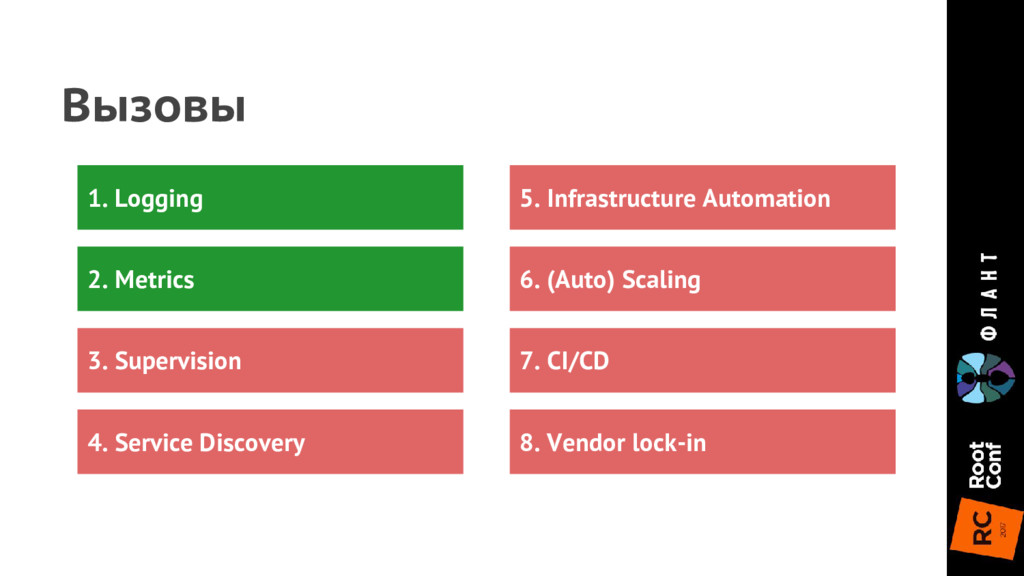 4. Service Discovery 3. Supervision 6. (Auto) S...