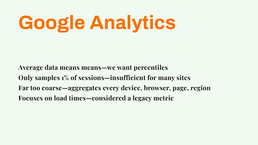 Google Analytics Average data means means—we wa...