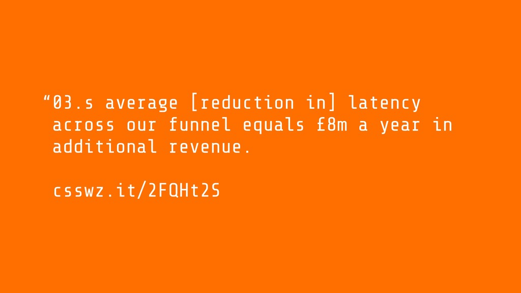 03.s average [reduction in] latency across our ...