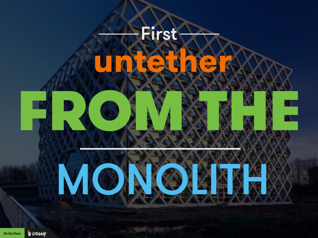 First MONOLITH FROM THE untether