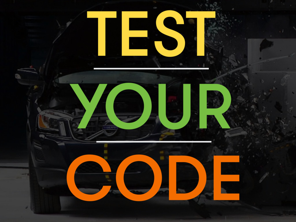 TEST CODE YOUR
