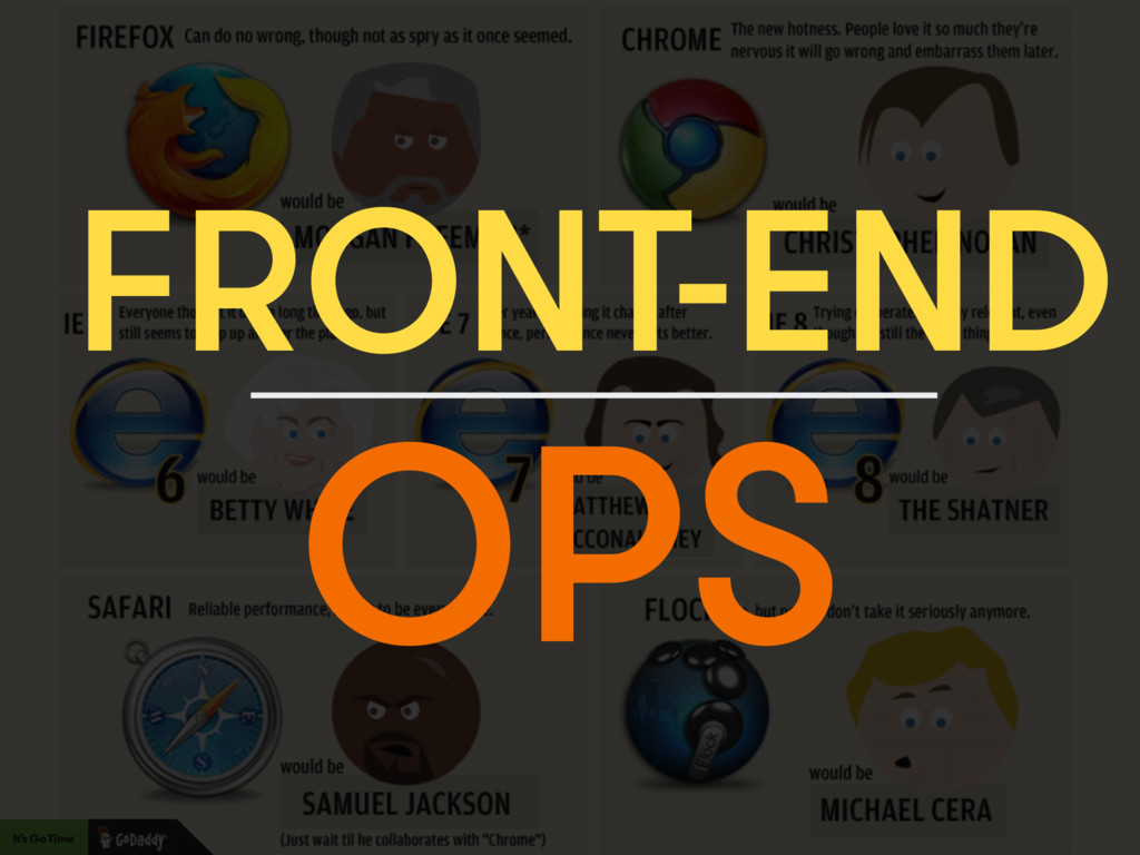FRONT-END OPS