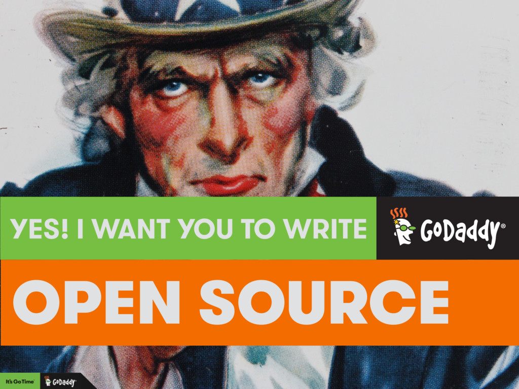 OPEN SOURCE YES! I WANT YOU TO WRITE