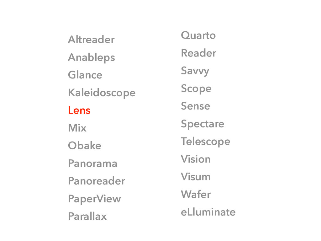 Altreader Anableps Glance Kaleidoscope Lens Mix...