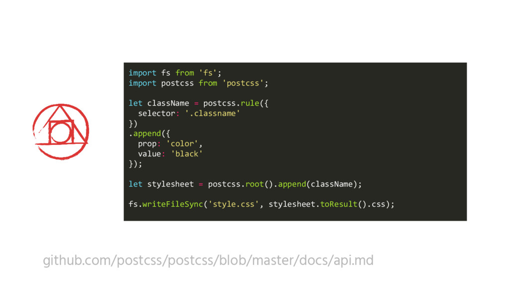 import fs from 'fs'; import postcss from 'postc...