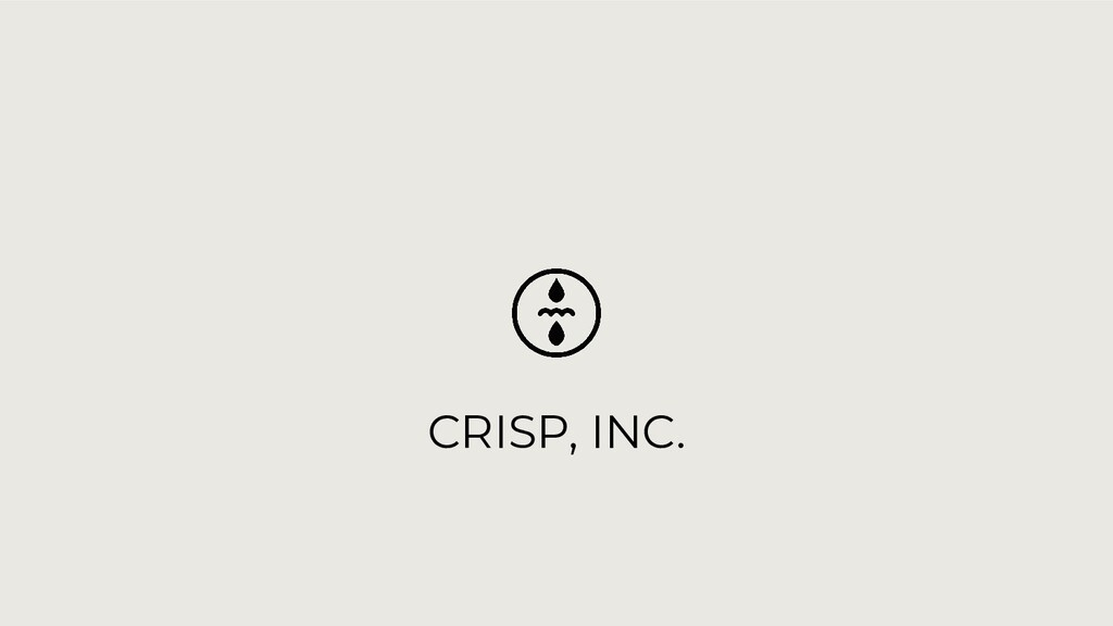 CRISP, INC.
