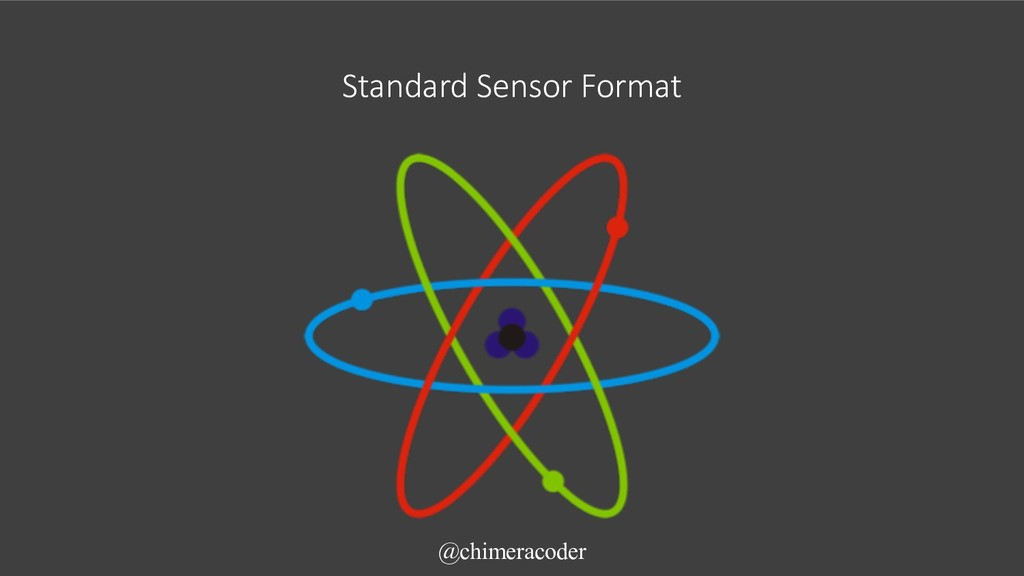Standard Sensor Format @chimeracoder