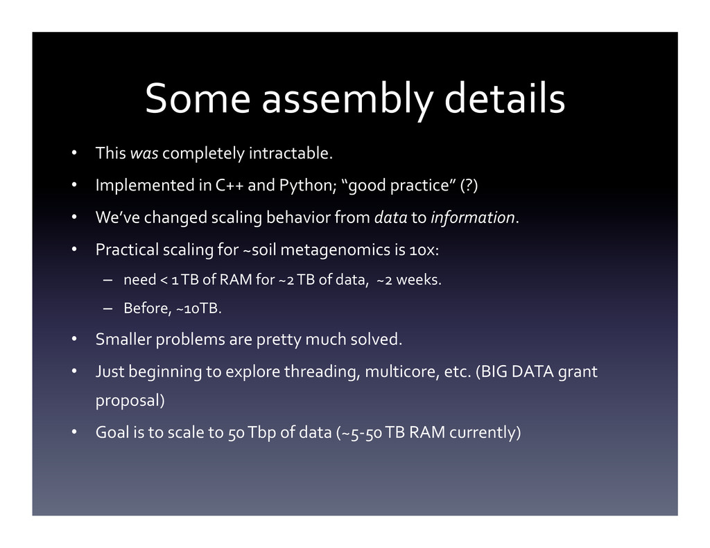 Some assembly details  • This was...
