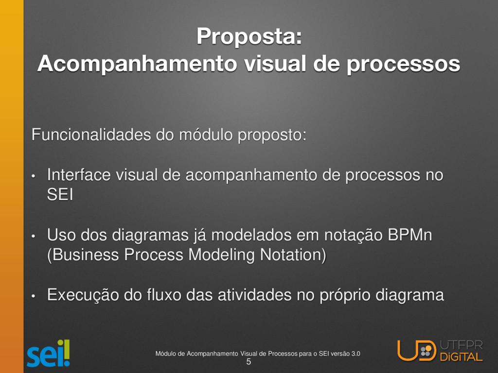Proposta: Acompanhamento visual de processos Fu...