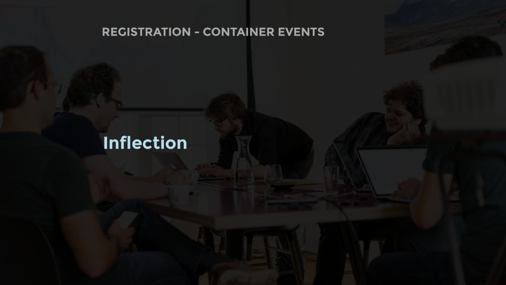 Inflection REGISTRATION - CONTAINER EVENTS