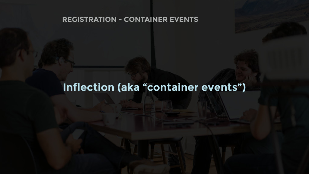 REGISTRATION - CONTAINER EVENTS Inflection (aka...