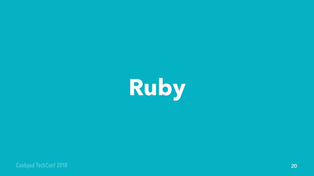 Ruby 20