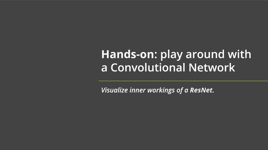 Hands-on ResNet