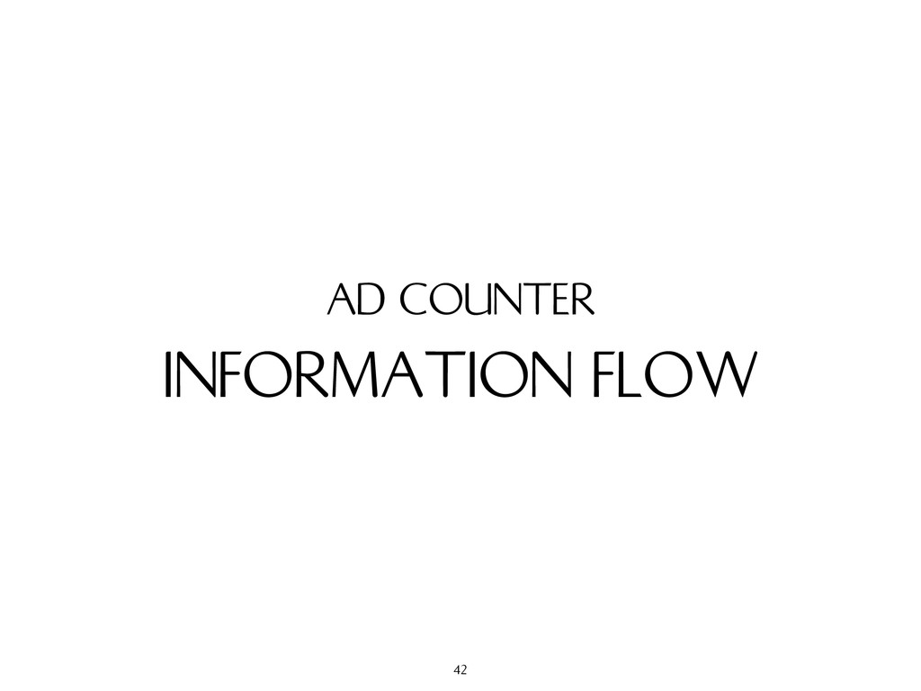INFORMATION FLOW AD COUNTER 42