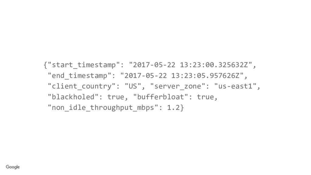 "{""start_timestamp"": ""2017-05-22 13:23:00.325632..."