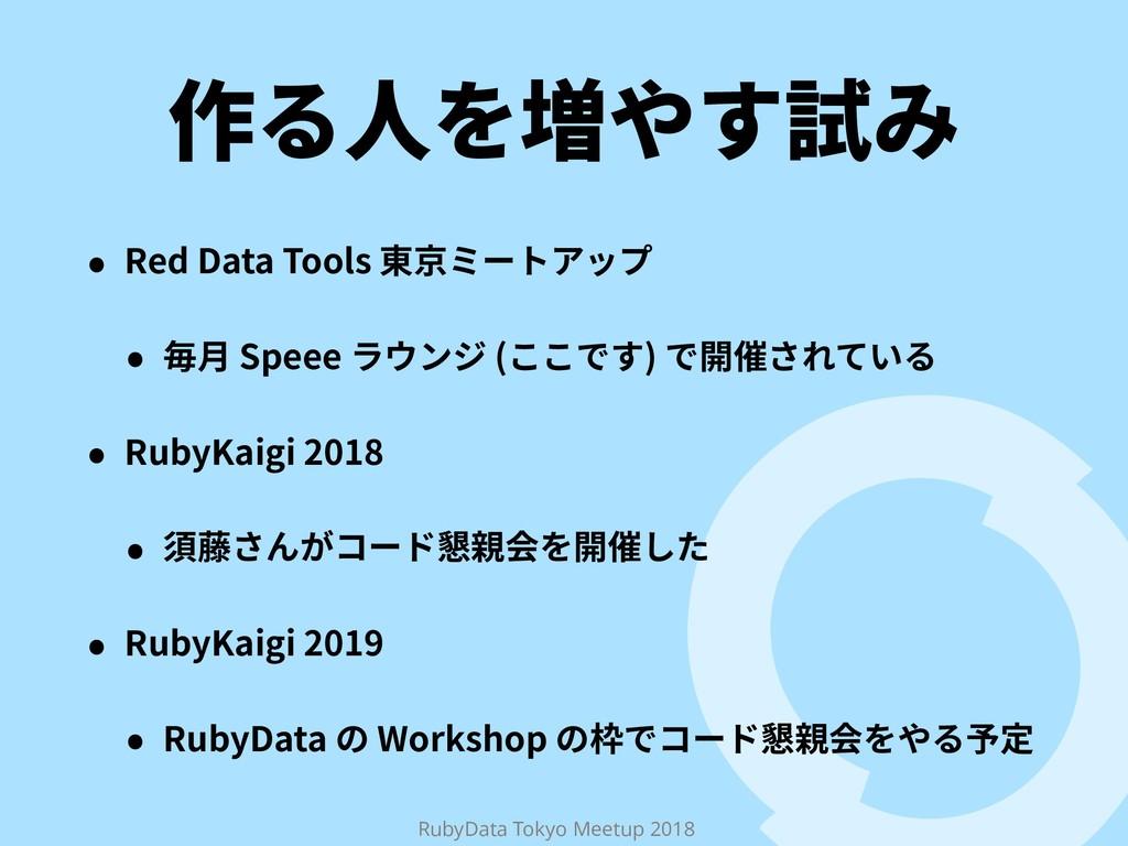 RubyData Tokyo Meetup 2018 ⡲➂㟓װׅ鑐 ˖ 3FE%BUB...