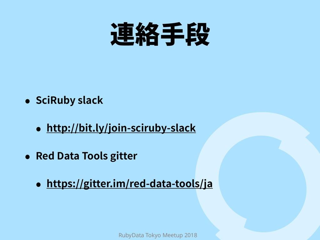 RubyData Tokyo Meetup 2018 鸬窃䩛媮 ˖ 4DJ3VCZTMBDL...
