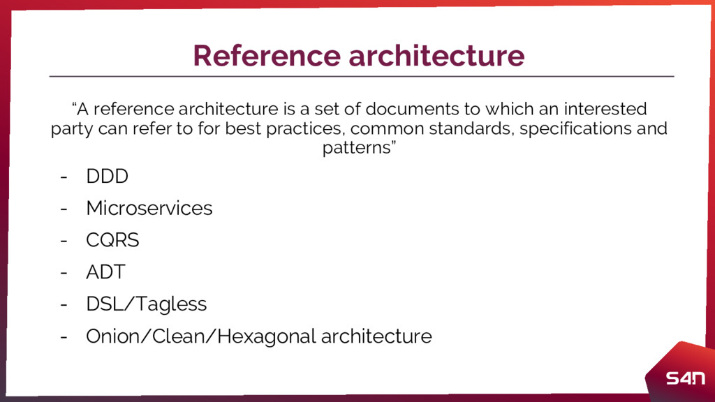 """Reference architecture """"A reference architectur..."""