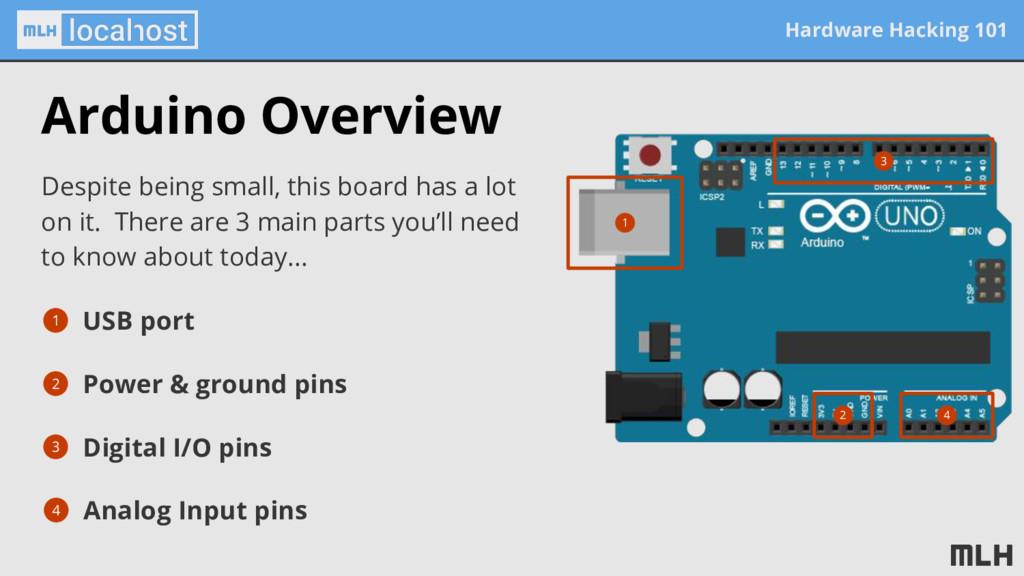 Hardware Hacking 101 Arduino Overview Despite b...
