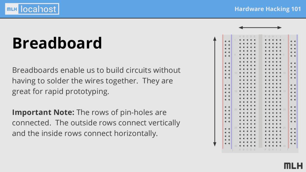 Hardware Hacking 101 Breadboard Breadboards ena...