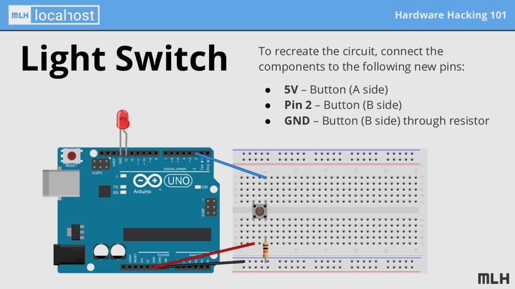 Hardware Hacking 101 To recreate the circuit, c...