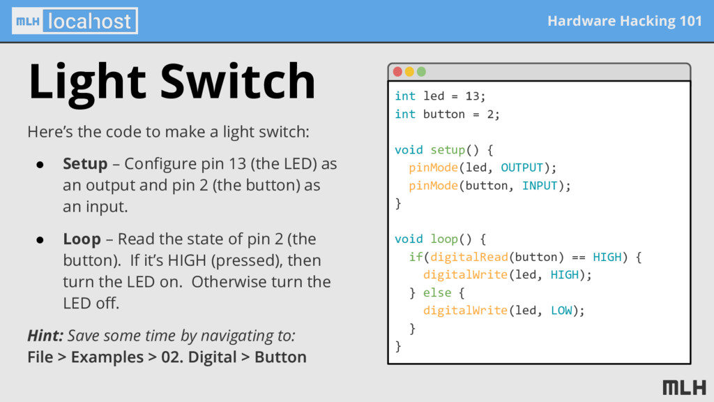Hardware Hacking 101 Light Switch Here's the co...
