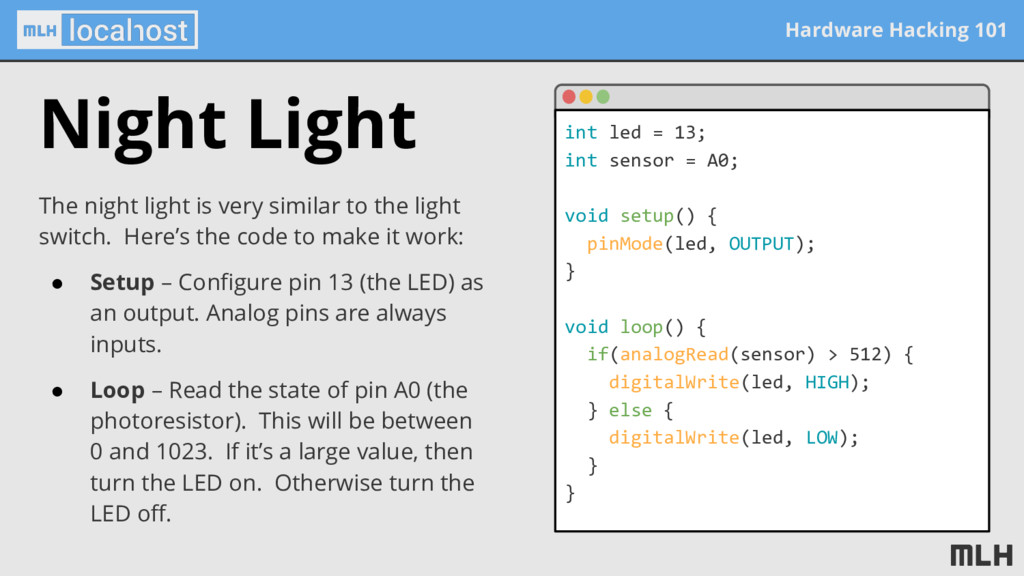 Hardware Hacking 101 The night light is very si...