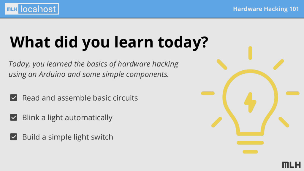 Hardware Hacking 101 What did you learn today? ...