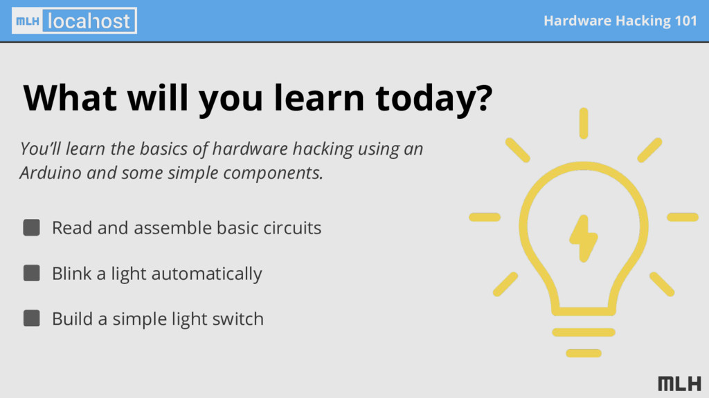 Hardware Hacking 101 What will you learn today?...