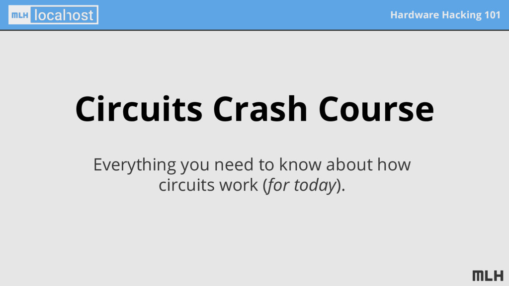 Hardware Hacking 101 Circuits Crash Course Ever...