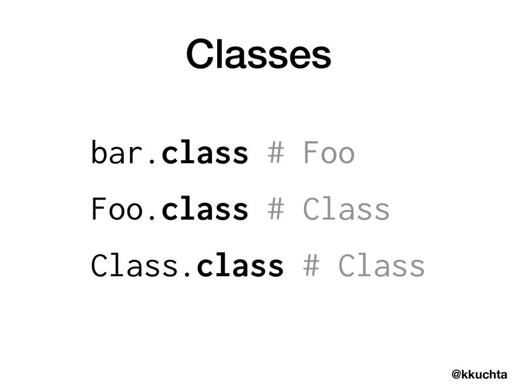 @kkuchta Classes bar.class # Foo Foo.class # Cl...