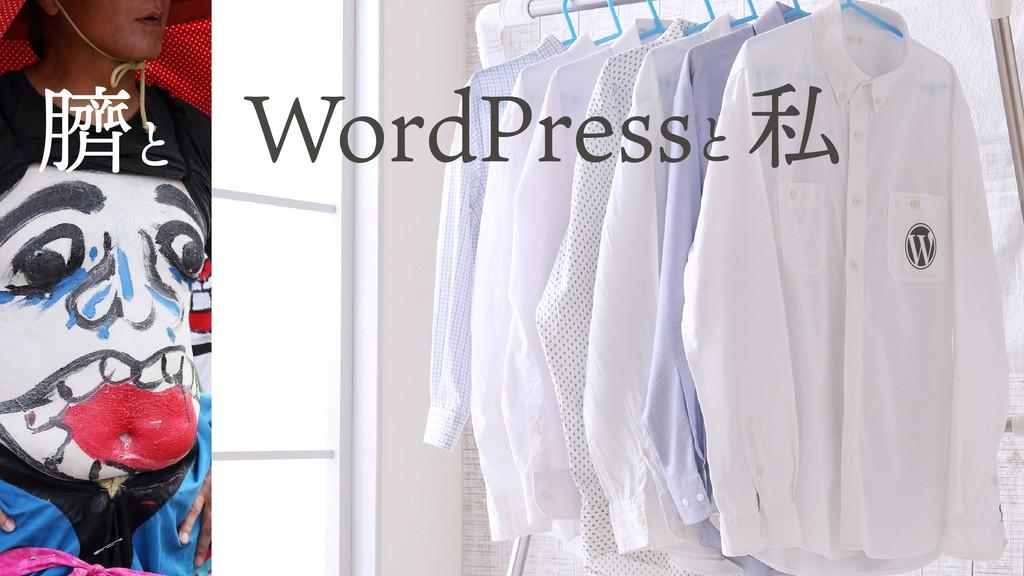 WordPressと 臍と 私