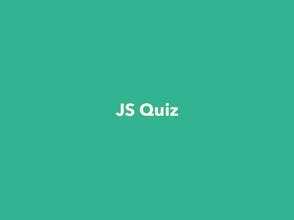 JS Quiz