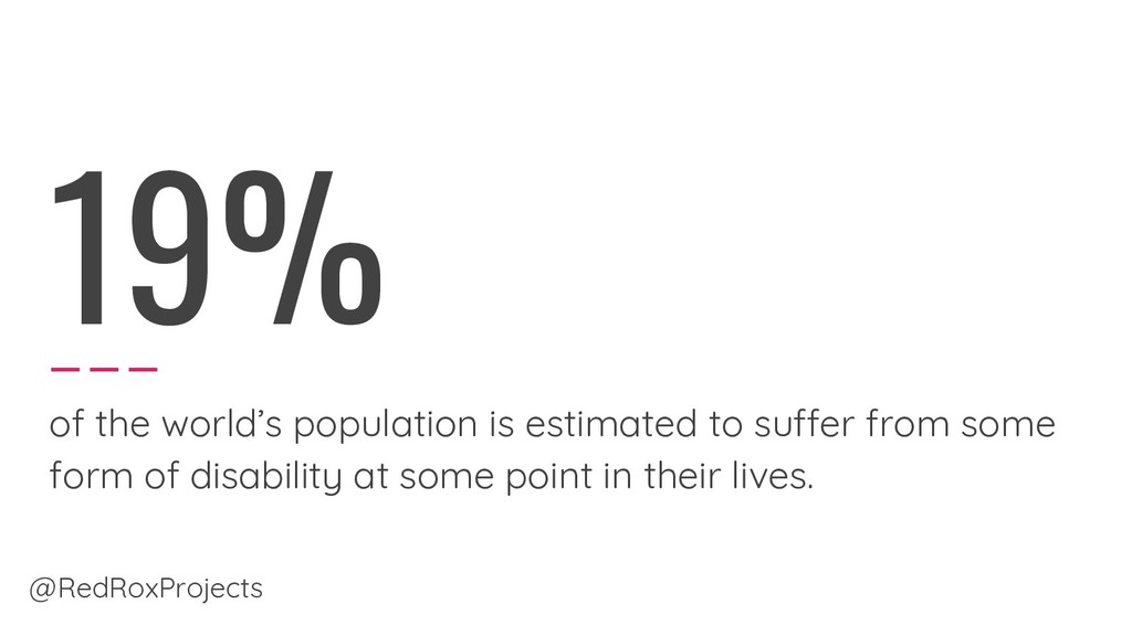 19% of the world's population is estimated to s...