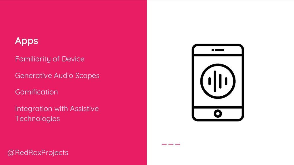 Apps Familiarity of Device Generative Audio Sca...