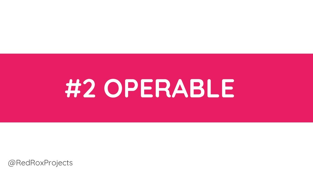 #2 OPERABLE @RedRoxProjects