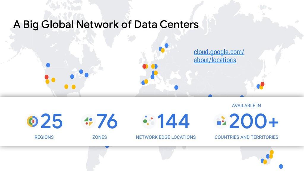 cloud.google.com/ about/locations A Big Global ...