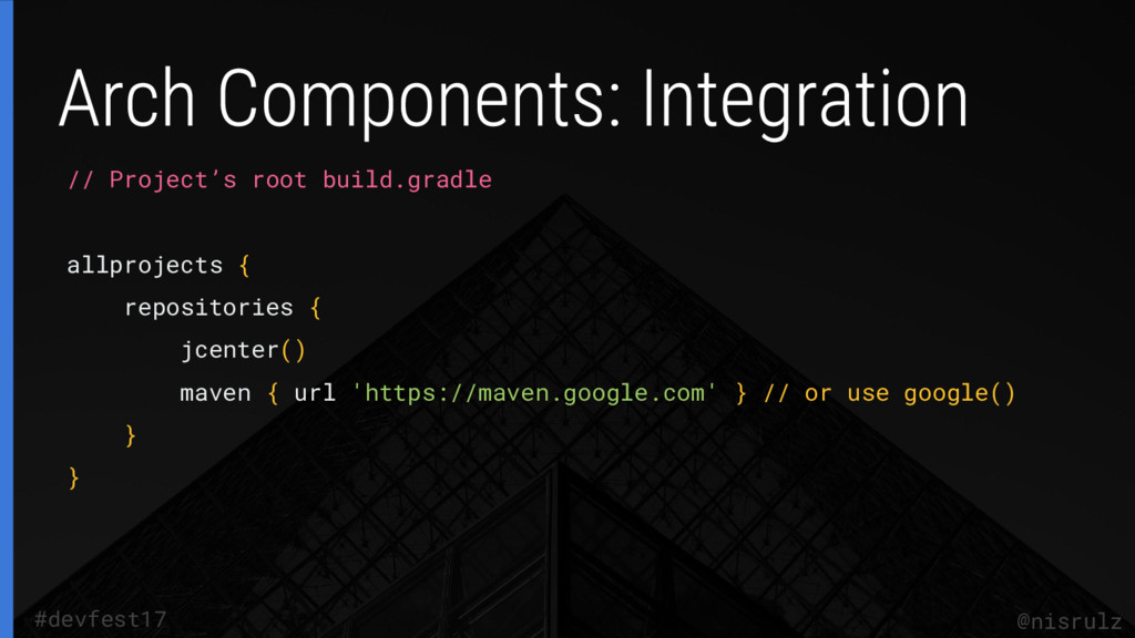 // Project's root build.gradle allprojects { re...