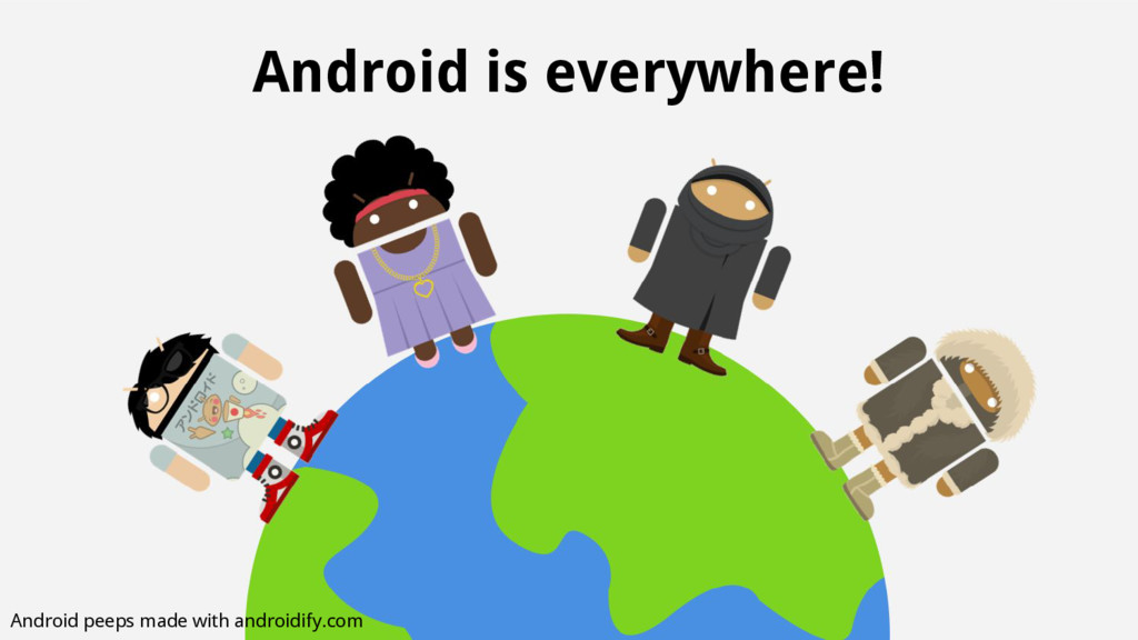 Android peeps made with androidify.com Android ...